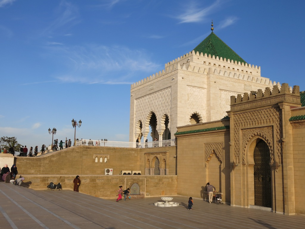 Mausoleum and Mosque of Mohammed V