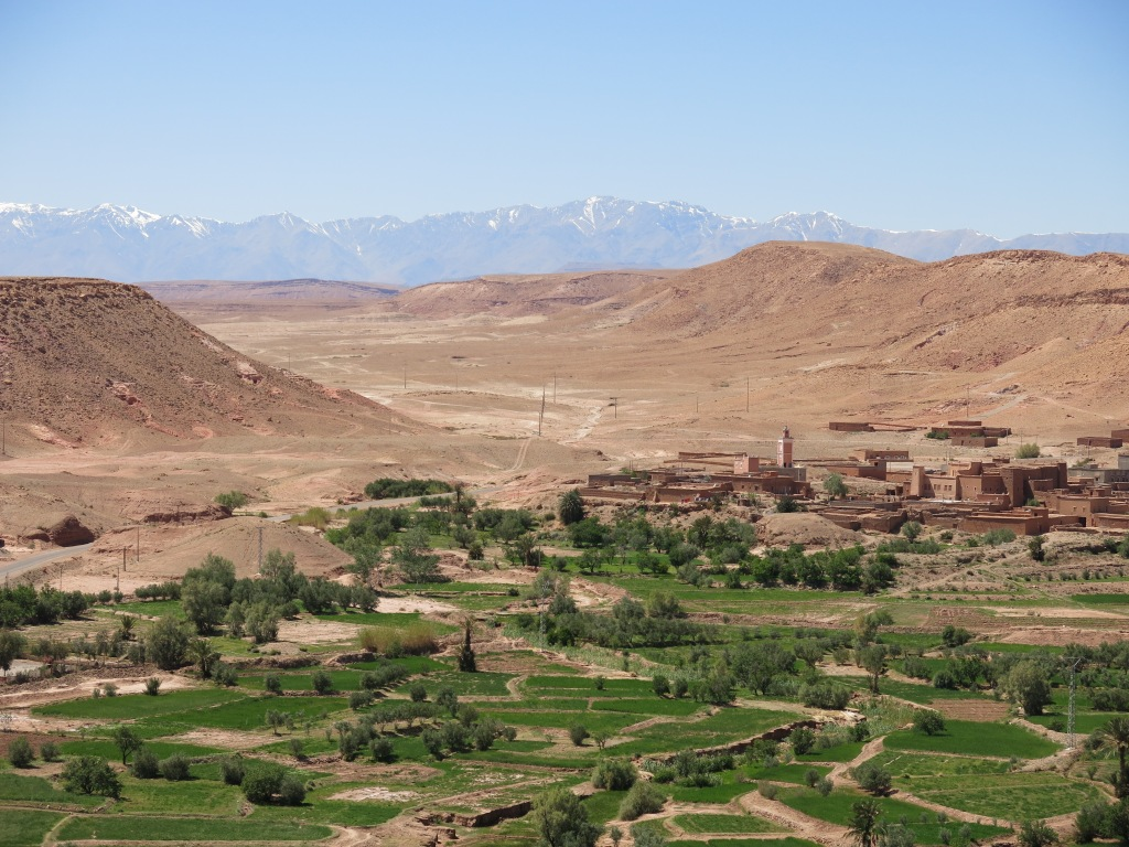 View from granary atop Ait Ben Haddou