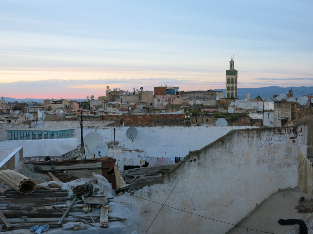View from riad rooftop