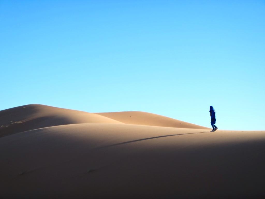 Berber in Sahara