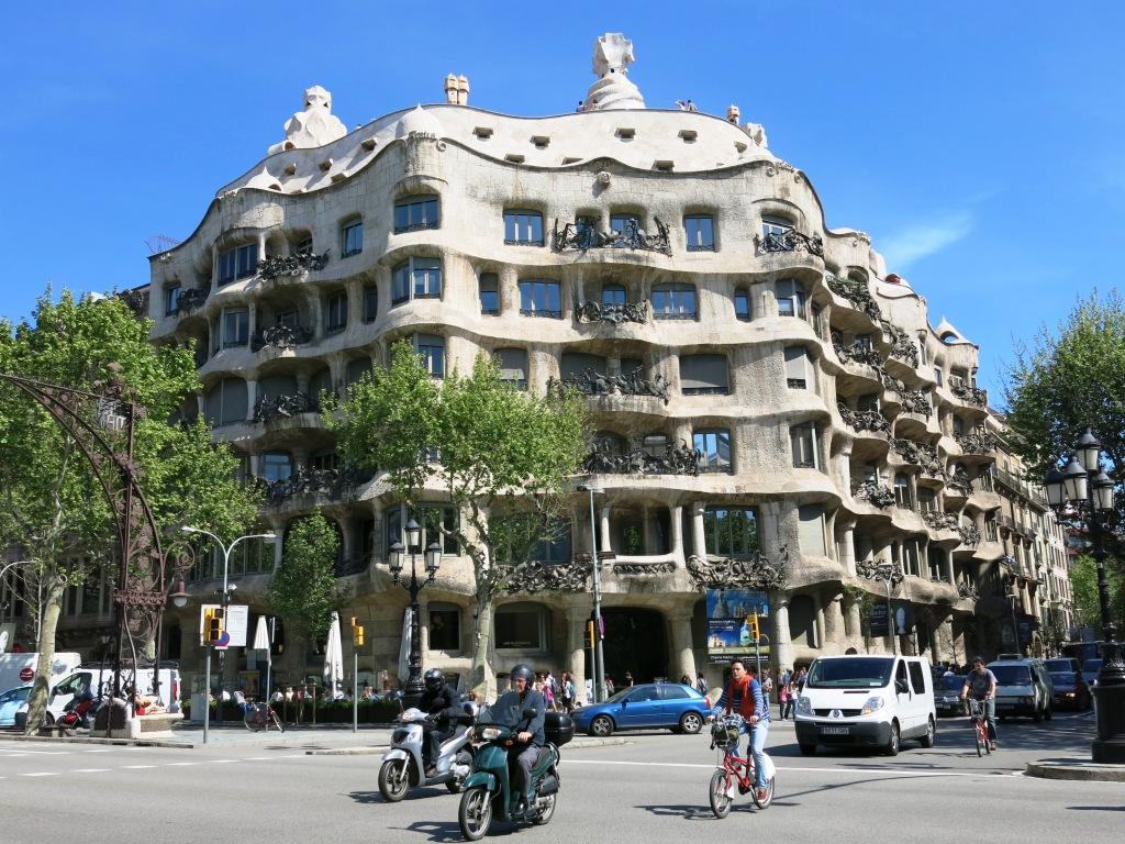Antoni Gaudí's La Pedrera