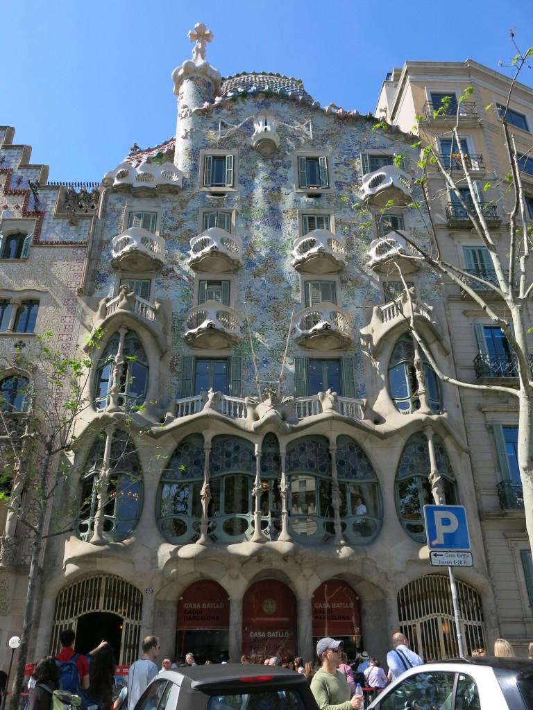 Antoni Gaudí's Casa Batlló