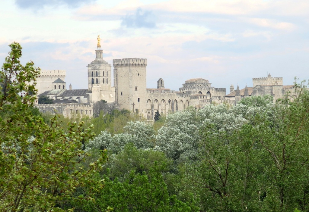 View of Avignon from Villeneuve-lès-Avignon