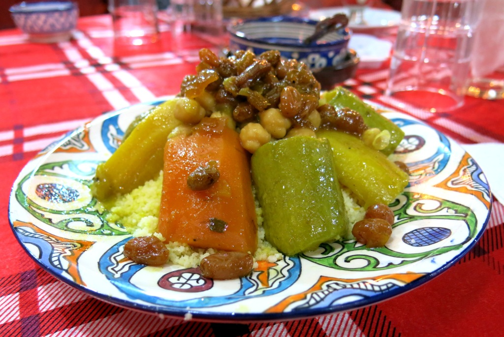 Tajine with raisins