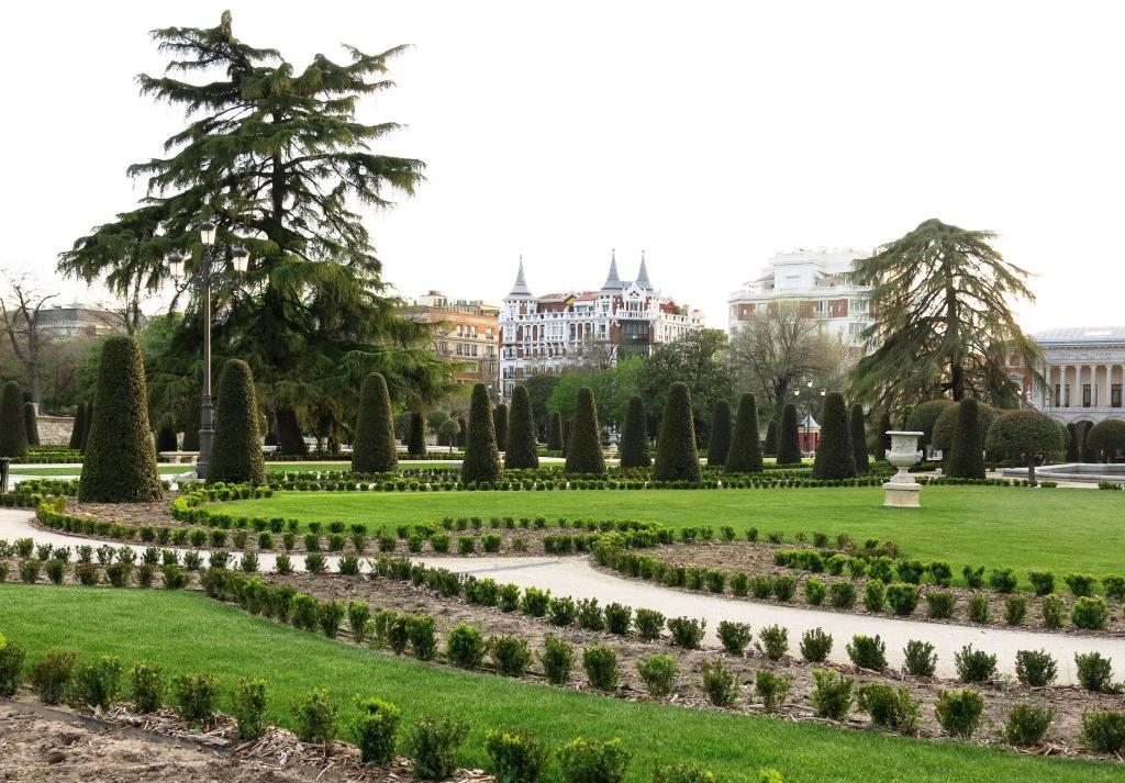 The Buen Retiro Park