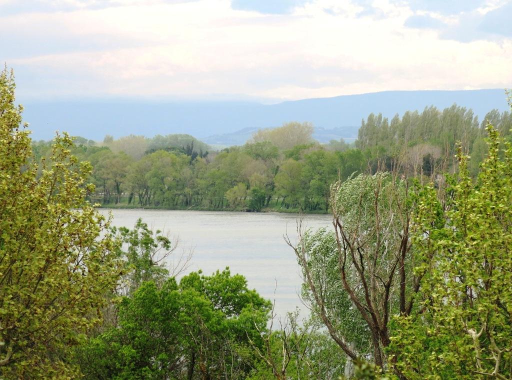 Rhone river, Villeneuve-lès-Avignon