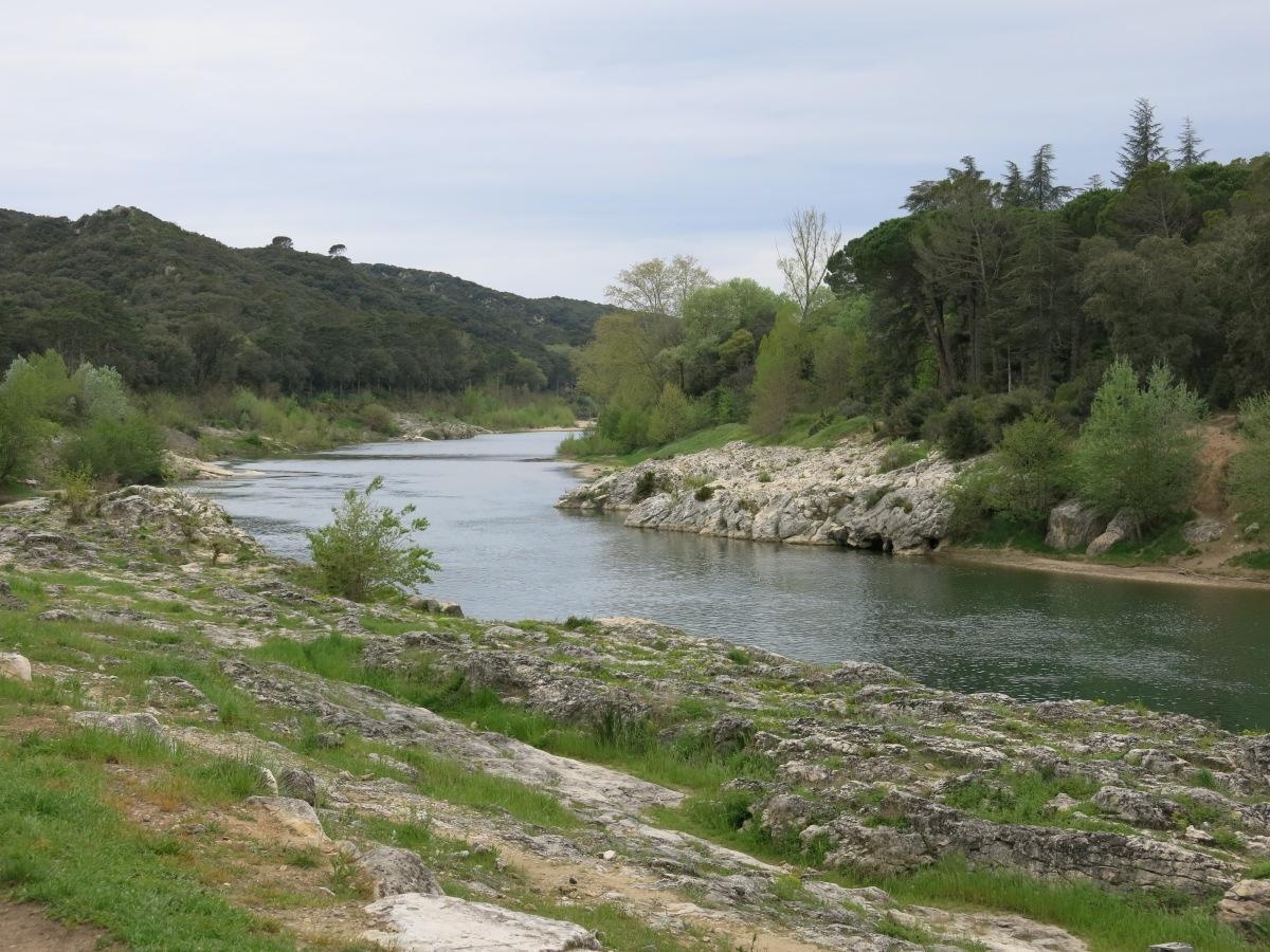 Gardon River, Pont du Gard