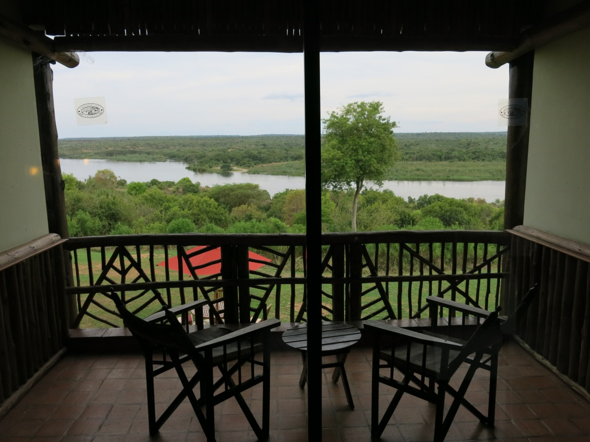 View of Nile from Paraa Safari Lodge