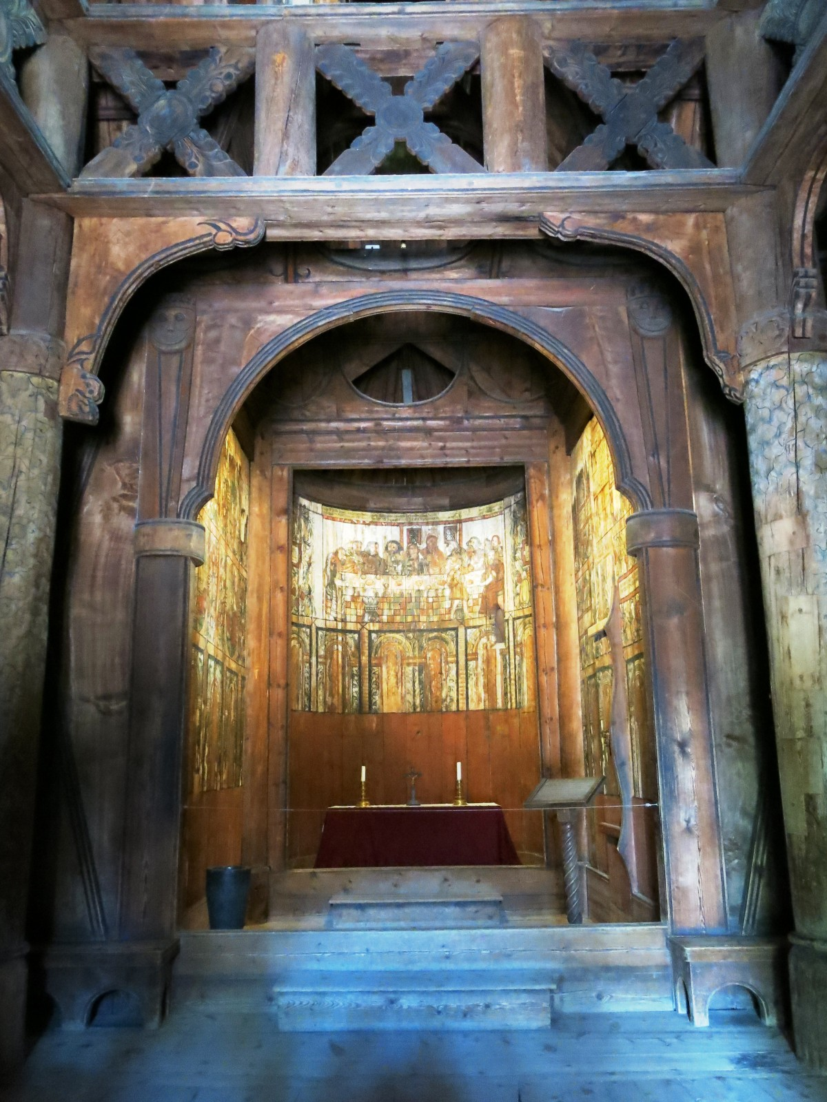 Stave Church, 1200