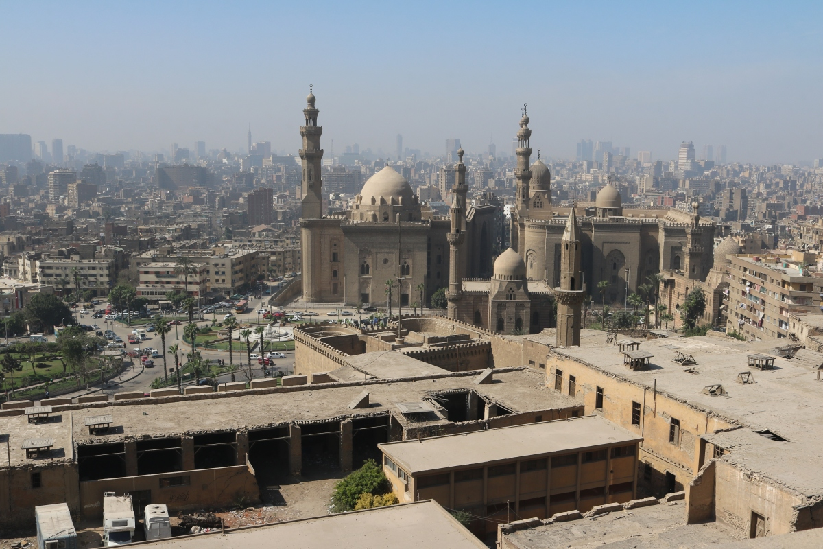 Cairo, view from Citadel