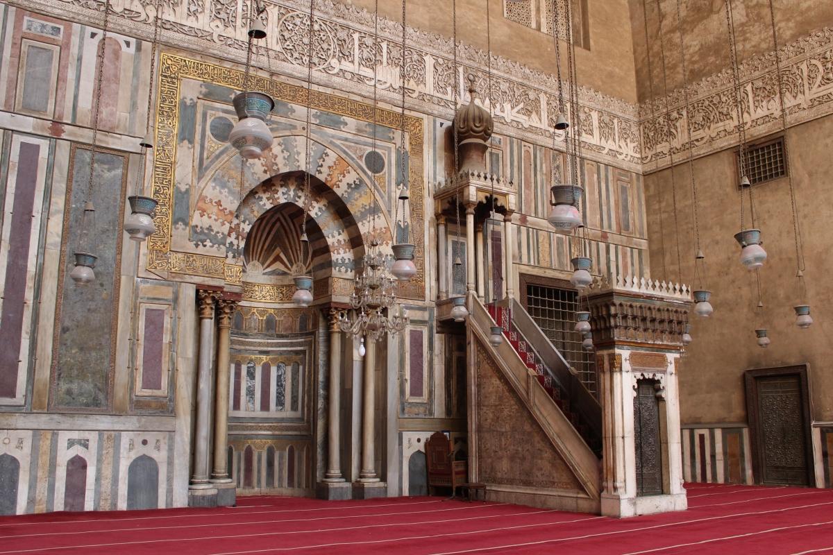 El Sultan Hassan Mosque 1