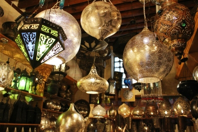Lantern shop in souk 1