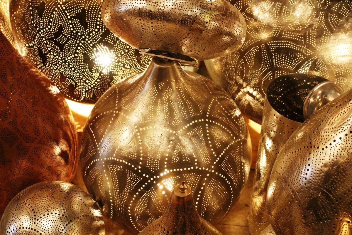 Lantern shop in souk 2