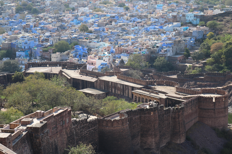 Mehrangarh Fort, Jodhpura, India