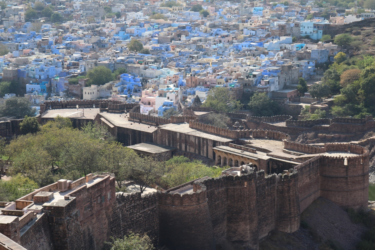 Mehrangarh Fort, Jodhpura, India