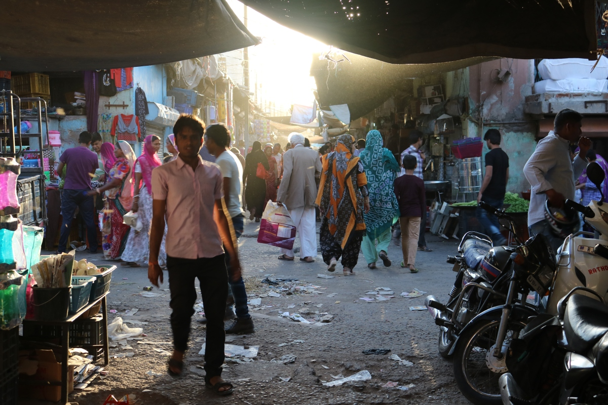 Street in Jodhpur, India