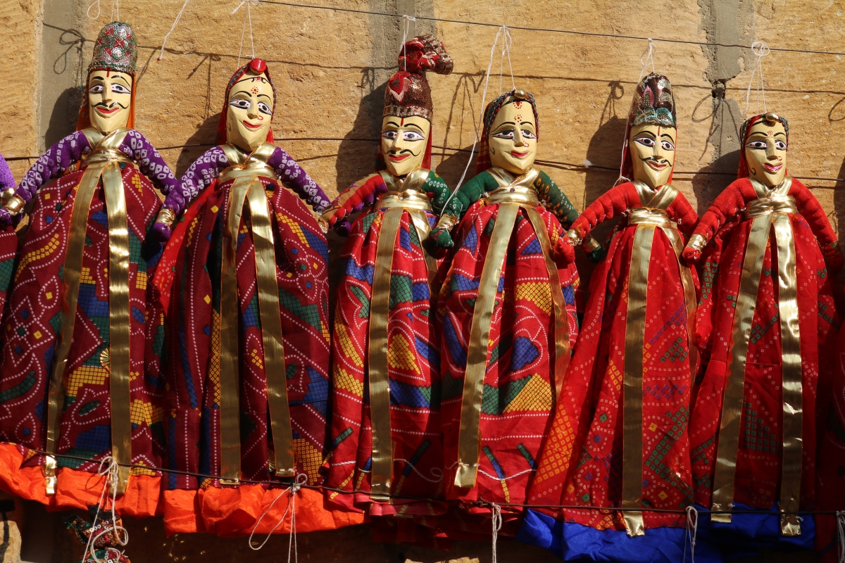 Puppets in Jaisalmer, India