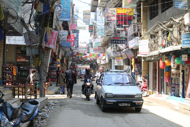 Street in Thamel