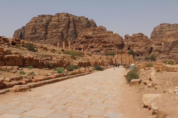 Roman road, Petra