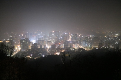 Seoul from Mt. Namsan