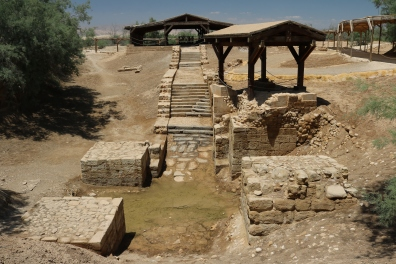 Site of Jesus' baptism, Bethany