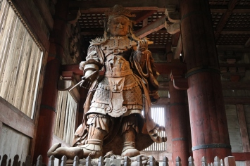 Statue, Great Buddha Hall, Nara